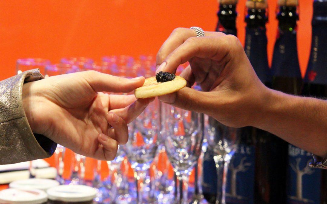 Γευστική δοκιμή Caviar de Neuvic στα Flora (φωτογραφίες)