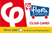 Flora Club Card