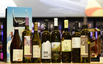 Greek wines from rare grape varieties at Flora