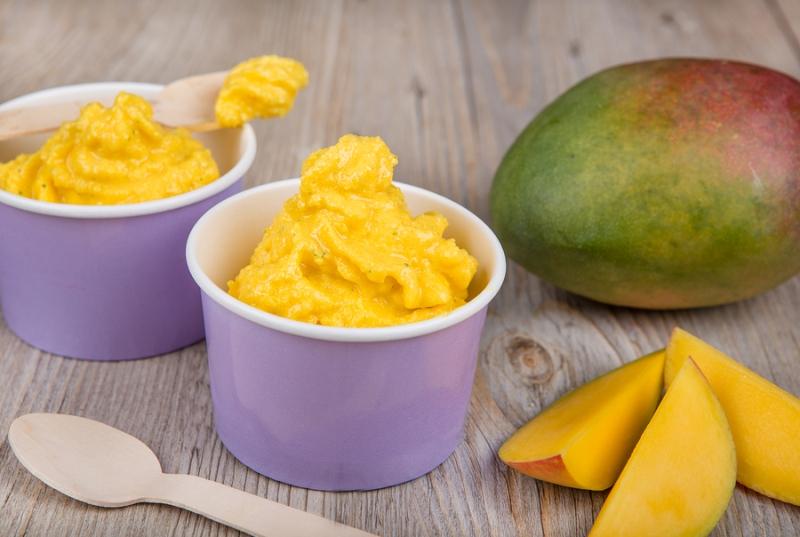 Άκρως απολαυστικό frozen yogurt… στο πεντάλεπτο!