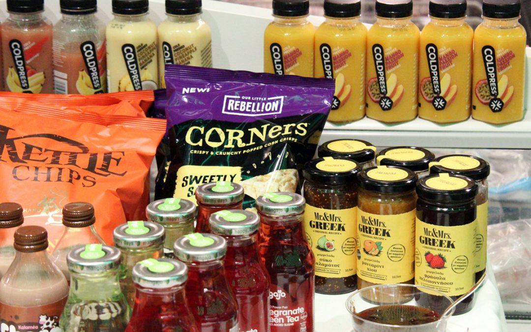 Γευστική δοκιμή Kalamea Fine Foods στα Flora (φωτογραφίες)