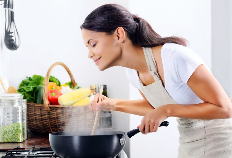 Νικήστε τις μυρωδιές του τηγανίσματος!