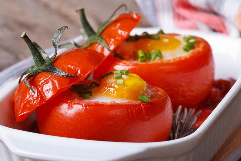 Αλλιώτικες Γεμιστές Ντομάτες