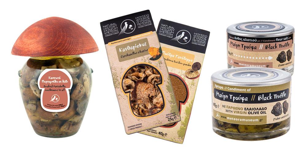 Προϊόντα από μανιτάρι   Από το Μουσείο Μανιταριών Μετεώρων στα Flora